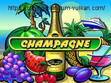 Champagne - играть онлайн бесплатно в казино Вулкан