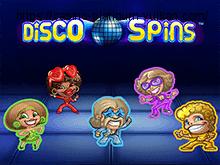 Играть бесплатно в автоматы Disco Spins
