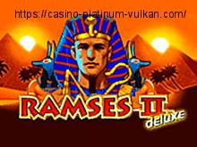 Играть бесплатно в автоматы Ramses II Deluxe
